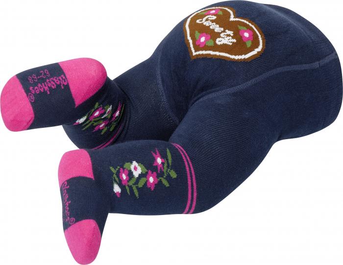 Ciorapi cu model, cu banda confortabila, calitate OEKO-TEX 1
