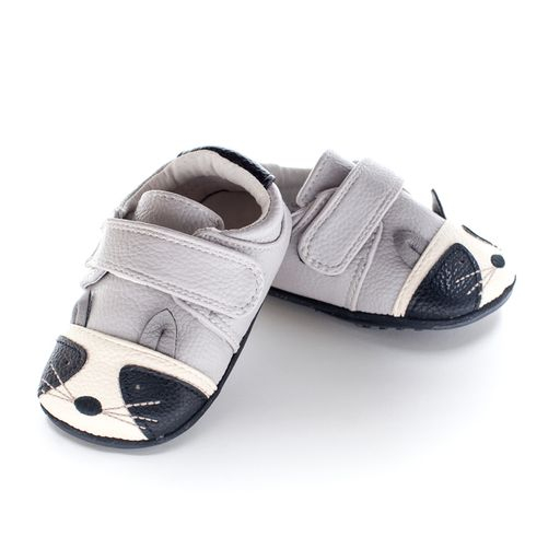 Pantofi casual, piele, baieti, Gri/Negru/Ratoon, Kelso [0]