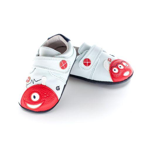 Pantofi sport, piele, baieti, Blue/Monster, Baylor 0