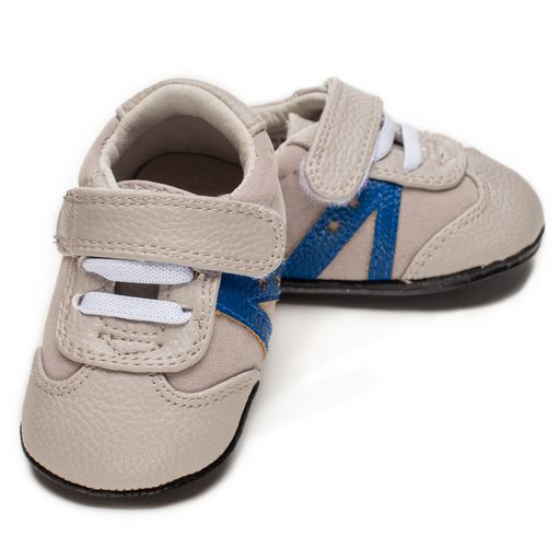 Pantofi sport, piele, baieti, Gri, Louis 0