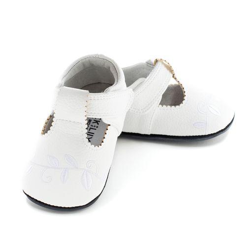 Pantofi casual, piele, fete, Alb, Ivy [0]