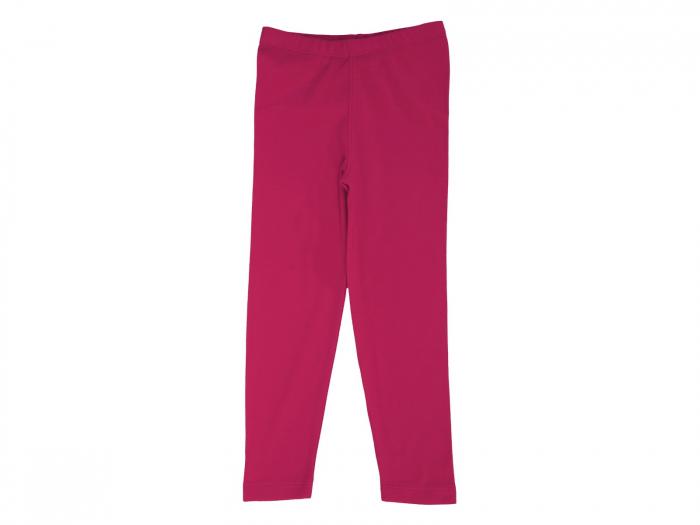 Pantalon leggings, rosu, bumbac 100%, Basic Line 0