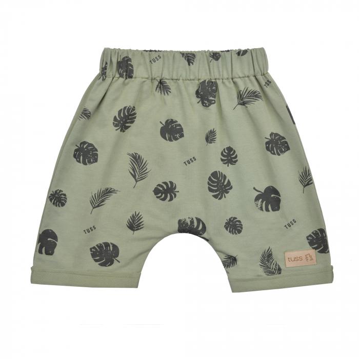 Pantalon scurt, unisex, Verde/Frunze, Seven Heaven [0]