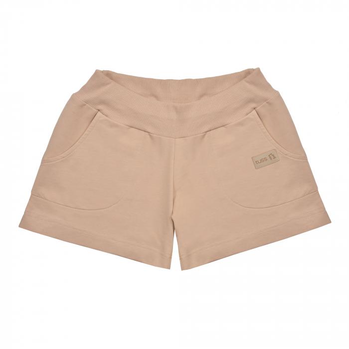 Pantalon scurt cu buzunare, fete, Bej, Seven Heaven [0]