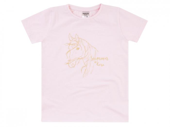 Tricou maneca scurta_fete_Roz/Horse [0]