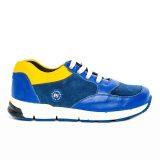 Pantofi sport din piele, baieti, Albastru, Horia [1]