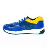 Pantofi sport din piele, baieti, Albastru, Horia [2]