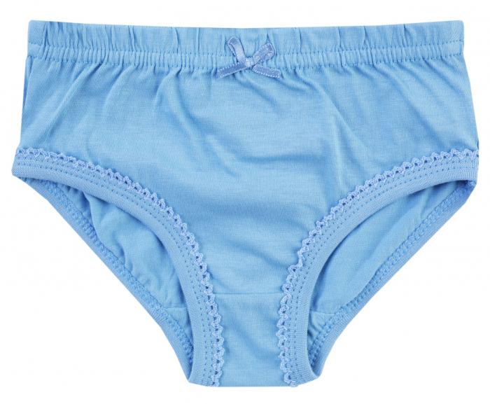 Chiloti fete, Set 4 bucati, albastru/roz/alb 2