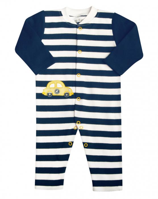 Pijama tip salopeta intreaga fara talpa bumbac 100%_ Cars 0