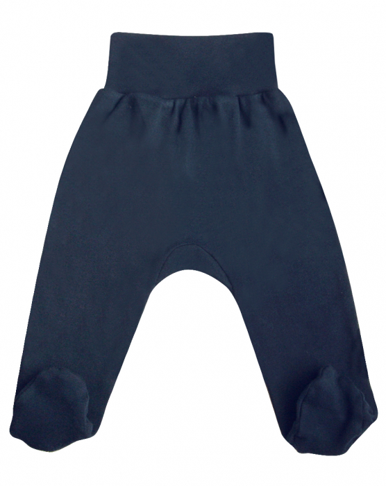 Pantaloni pijama cu talpa 100% bumbac_Cars 0
