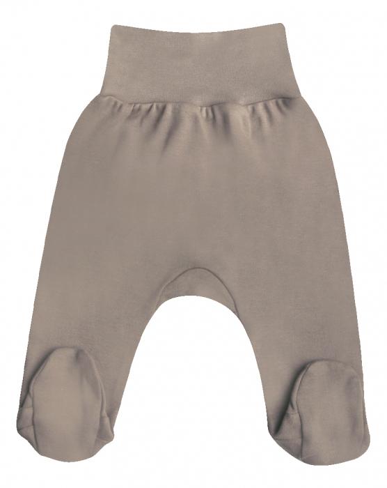 Pantaloni pijama cu talpa 100% bumbac_Girafa 0