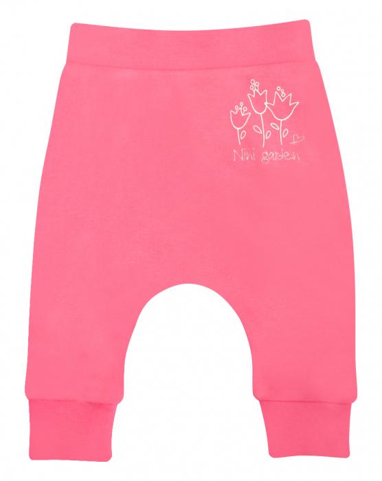 "Pantaloni ""Leggings"" bumbac organic 100%_Flower 0"