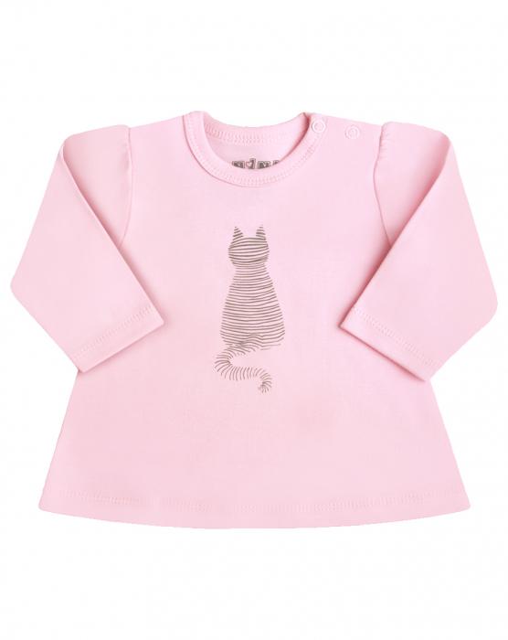Bluza cu maneca lunga bumbac 100%_Cat 0