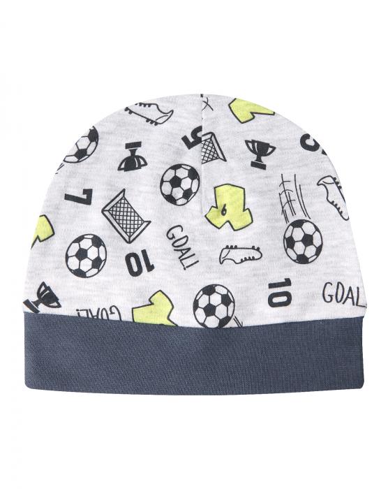 Caciula baieti, Gri/Fotbal 0