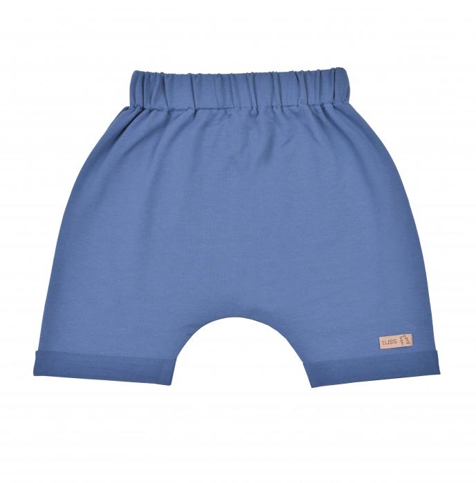 Pantalon scurt cu buzunar spate_baieti_Albastru 0