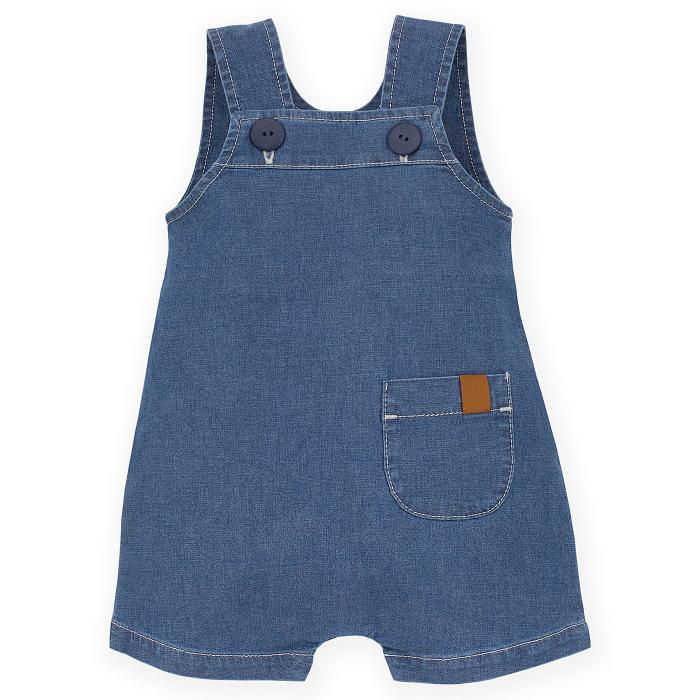 Salopeta vara tip sarafan, Albastru/Jeans, unisex_Summer Nice Day 0