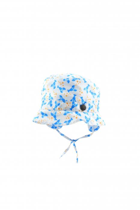 Palarie protectie soare_UV+15_baieti_Alb/Albastru/Lobster [0]