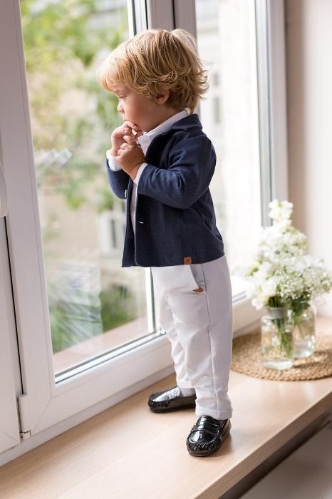 Pantaloni eleganti, bumbac 100%_Gri_Ceremony 0