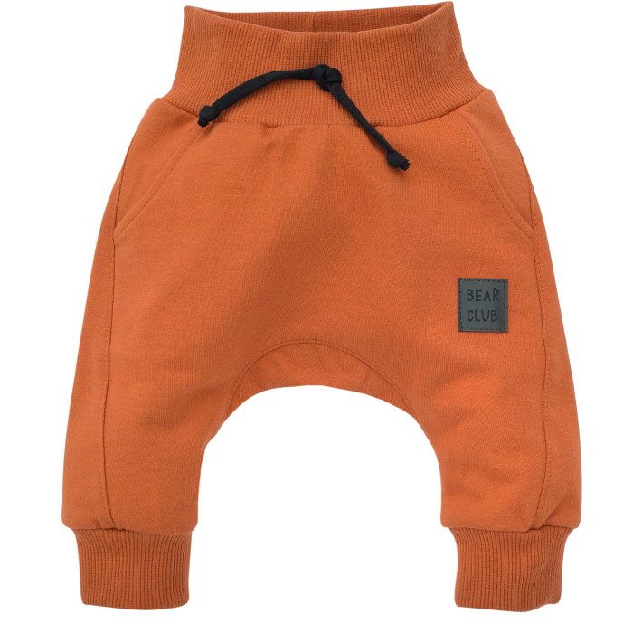 Pantalon trening, bumbac 100%_Caramiziu_Bear Club 0