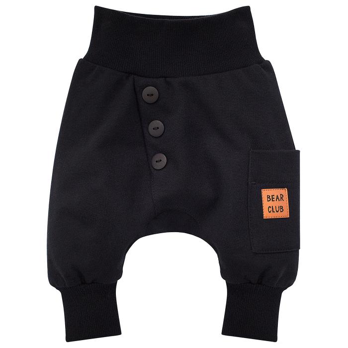 Pantalon trening, bumbac 100%, Negru, Bear Club [0]