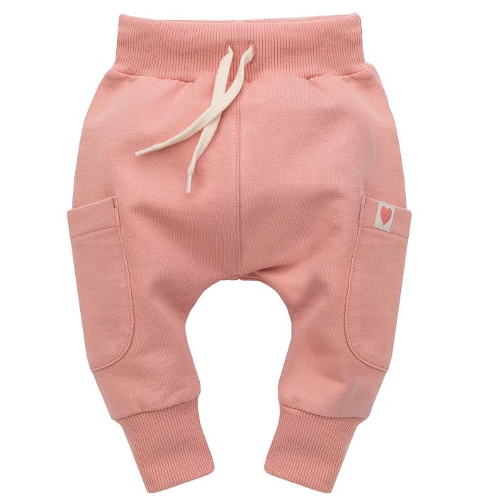 Pantalon trening, bumbac 100%_fete_roz_Spring Light [0]