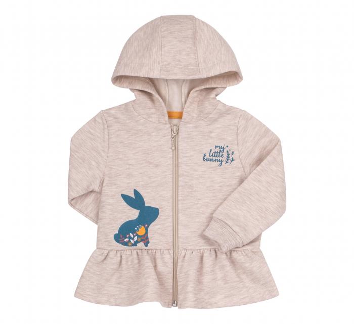 Trening intreg, fete, Gri/Albastru, My little bunny [1]