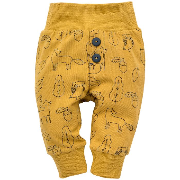"Pantaloni ""Leggings"", Yellow fox, Secret forest 0"