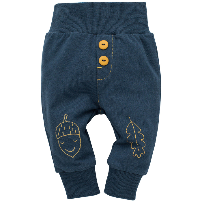 "Pantaloni ""Leggings""_Blue_Secret forest 0"