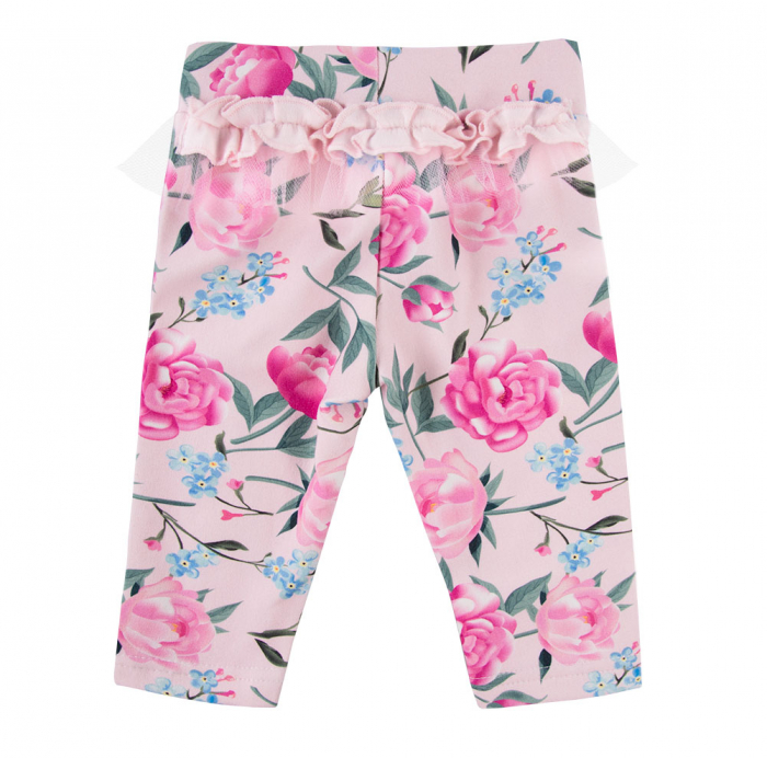 "Pantalon lung ""legging""_Fete_Roz/Flori_PEONY [0]"