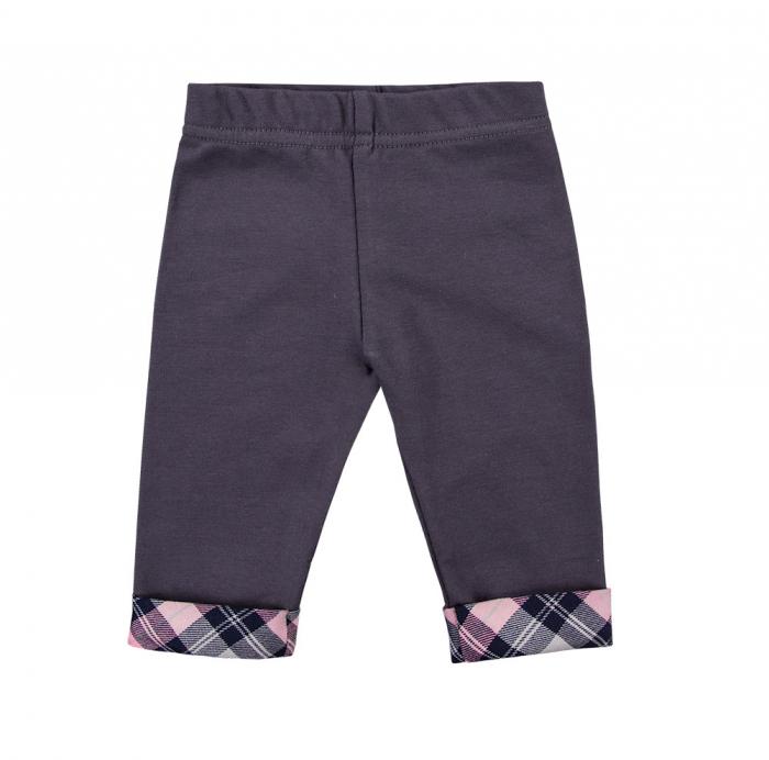 Pantalon tip leggings, Gri/Roz, Trip 0