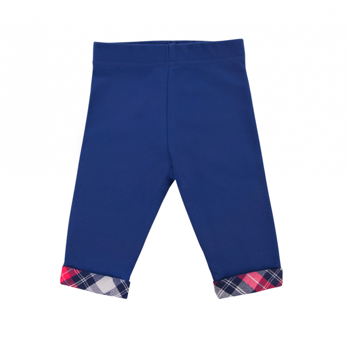 Pantalon tip leggings, Albastru/Rosu, Trip 0