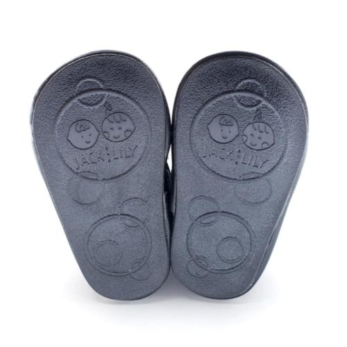Pantofi sport, piele_ZEKE_baieti_Negru 2