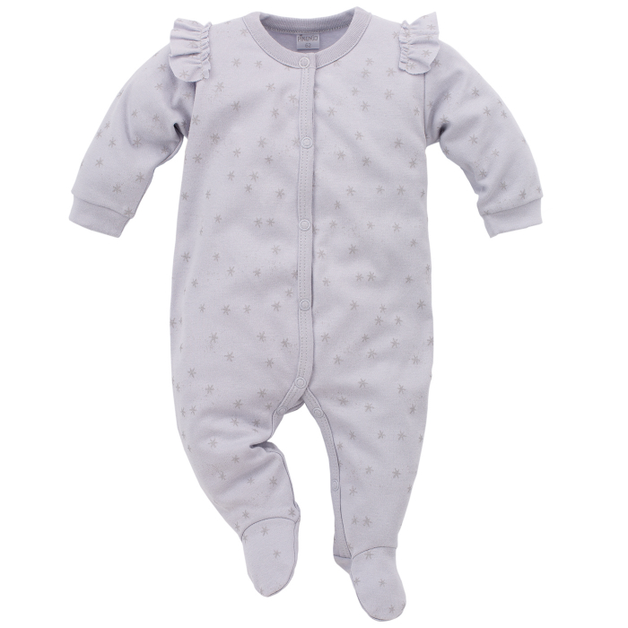 Pijama tip salopeta intreaga cu talpa bumbac 100%_Magic 0