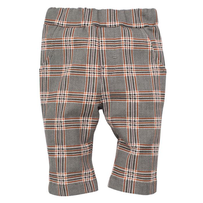 Pantalon casual lung, bumbac 100%_ Gri/Carouri_Bear Club 0