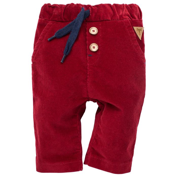 Pantalon velur, Rosu, Secret forest 0