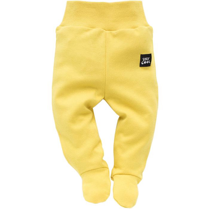 Pantalon tip pijama cu talpa, bumbac 100%, baieti, Funny dog 0