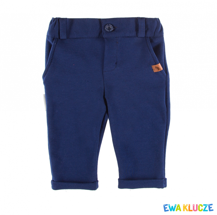 Pantalon elegant, bumbac 100%_Albastru_Ceremony [0]
