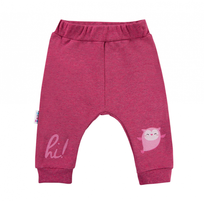 Pantalon trening fete_Bordo_Snow 0