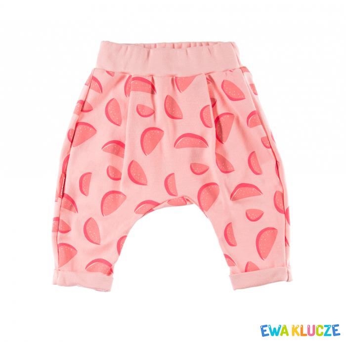 "Pantaloni ""Leggings""_Coral_ Bumbac100%_Sun 0"