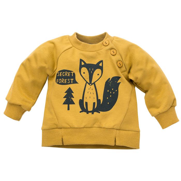 Bluza cu maneca lunga_Yellow fox_Secret forest 0
