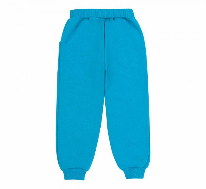 Pantalon trening cu buzunare, baieti, Albastru 1