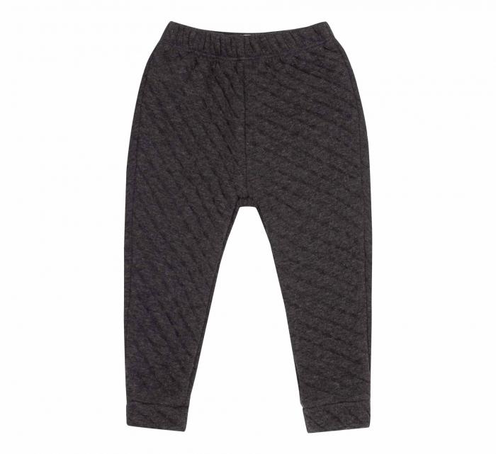 Pantalon lung, fete, Negru/Forme 0