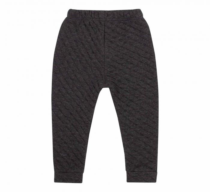 Pantalon lung, fete, Negru/Forme 1