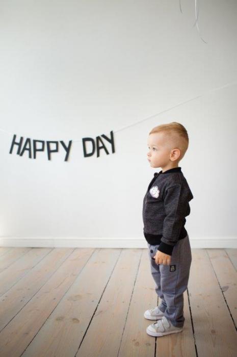 BLUZA TRENING FARA GLUGA_HAPPY DAY_GRI INCHIS 3