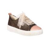 Pantofi din piele, fete, Auriu, Asia Dark [0]
