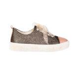 Pantofi din piele, fete, Auriu, Asia Dark [1]