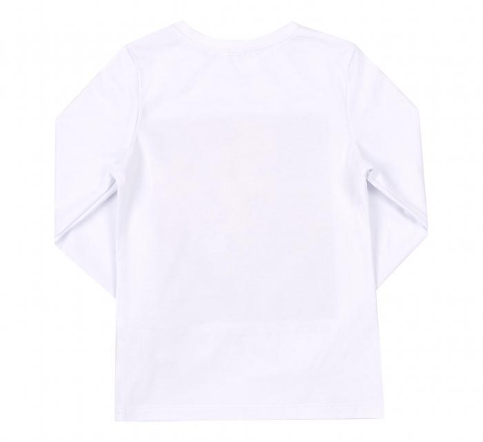 Bluza cu maneca lunga, Alb/Leu, Safary 1