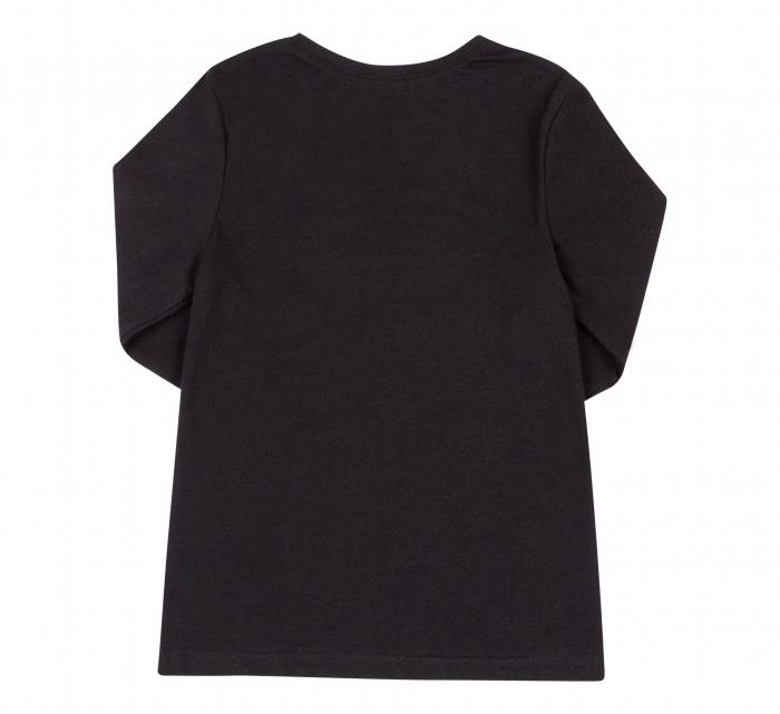 Bluza cu maneca lunga, Negru, Safary 1