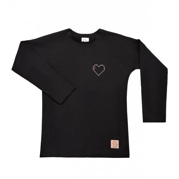 Bluza maneca lunga_Neagra 0