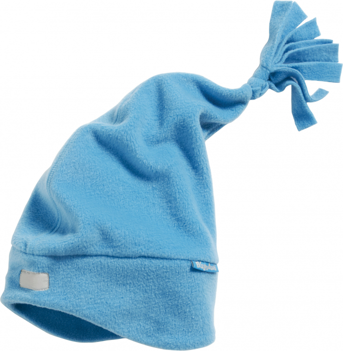 Caciula din fleece, calitate OEKO-TEX, cu banda refelctorizanta si ciucur si protectii urechi 0